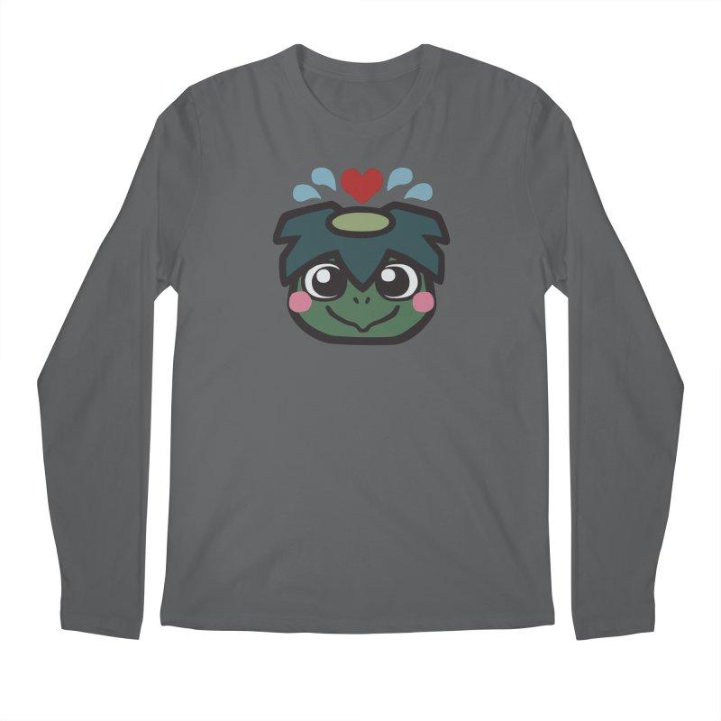 Kappa Love Men's Longsleeve T-Shirt by Cattype's Artist Shop