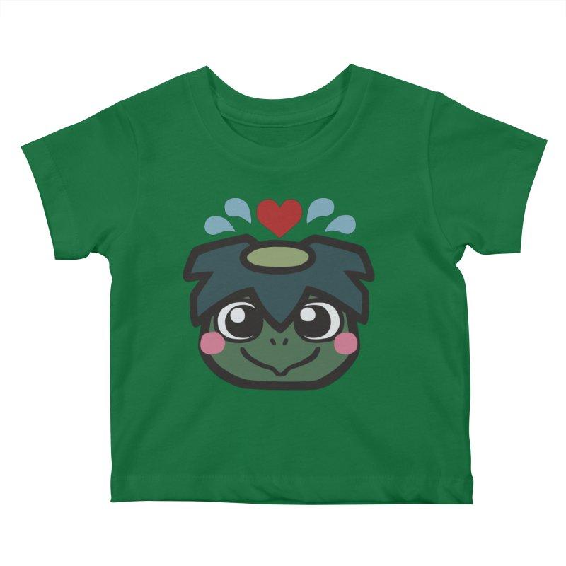 Kappa Love Kids Baby T-Shirt by Cattype's Artist Shop