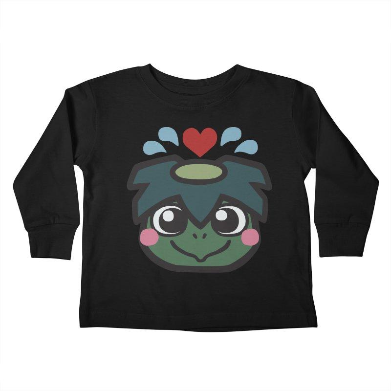 Kappa Love Kids Toddler Longsleeve T-Shirt by Cattype's Artist Shop