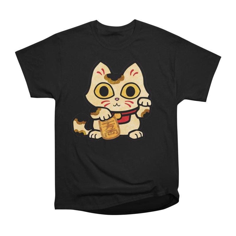 Maneki Neko Women's T-Shirt by Cattype's Artist Shop