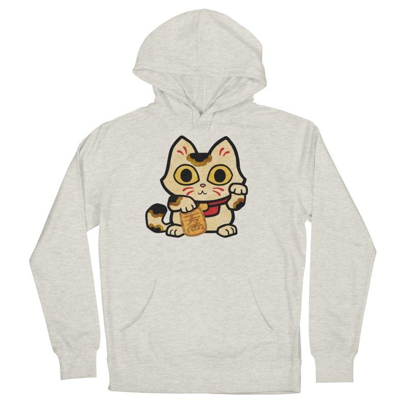 Maneki Neko Men's Pullover Hoody by Cattype's Artist Shop