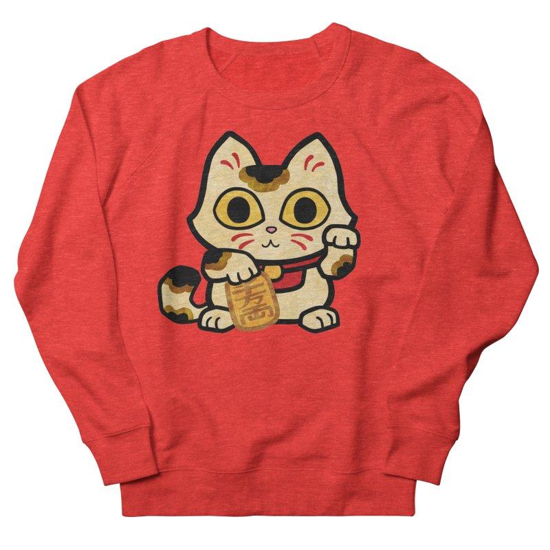 Maneki Neko Women's Sweatshirt by Cattype's Artist Shop