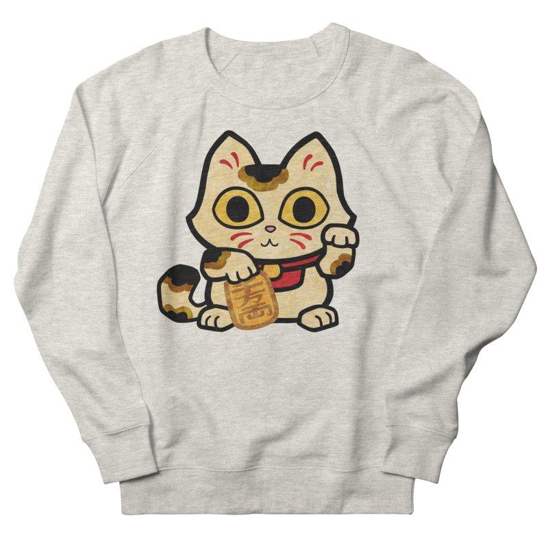 Maneki Neko Men's Sweatshirt by Cattype's Artist Shop