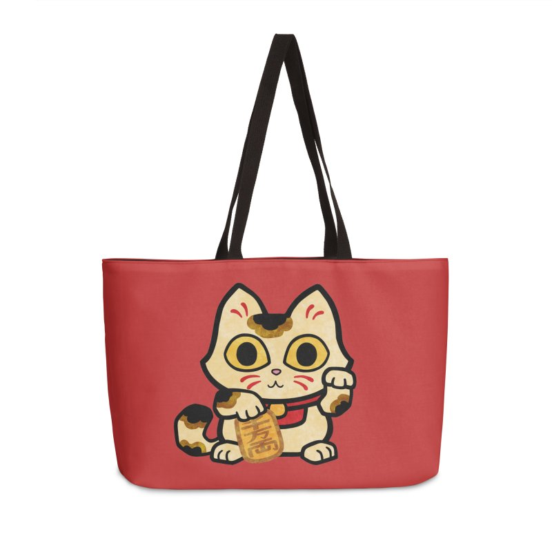Maneki Neko Accessories Bag by Cattype's Artist Shop