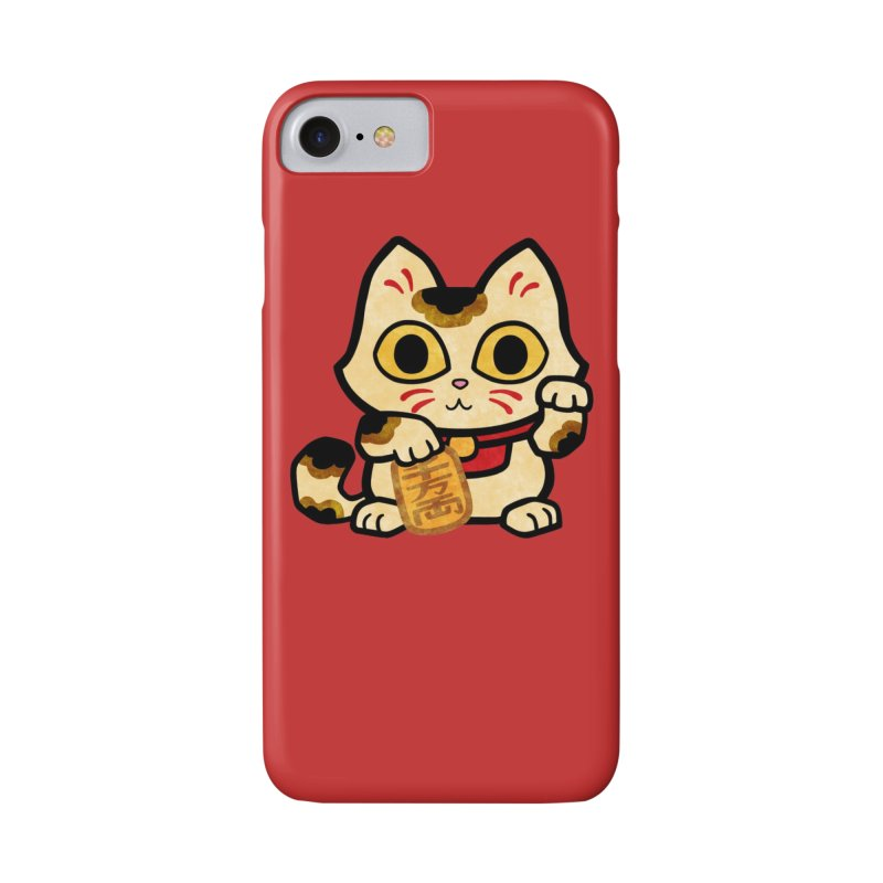 Maneki Neko Accessories Phone Case by Cattype's Artist Shop