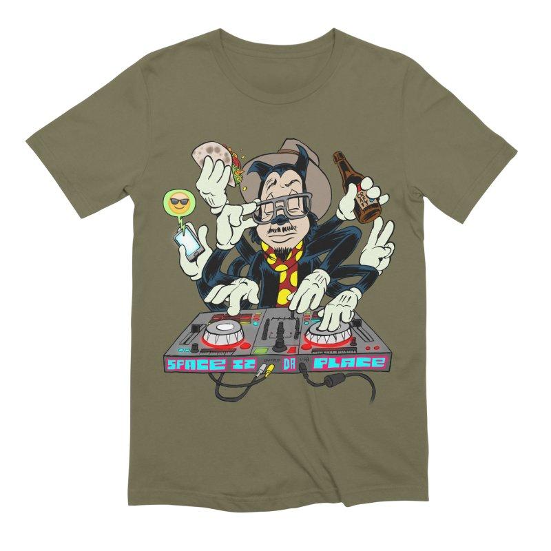 DJ Sancho Swift Men's Extra Soft T-Shirt by Magic Inkwell