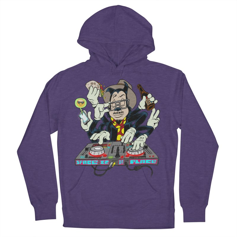 DJ Sancho Swift Men's French Terry Pullover Hoody by Magic Inkwell