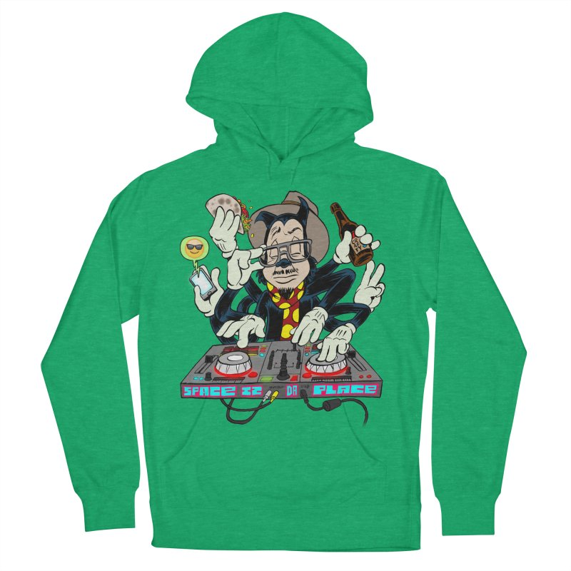 DJ Sancho Swift Men's Pullover Hoody by Magic Inkwell