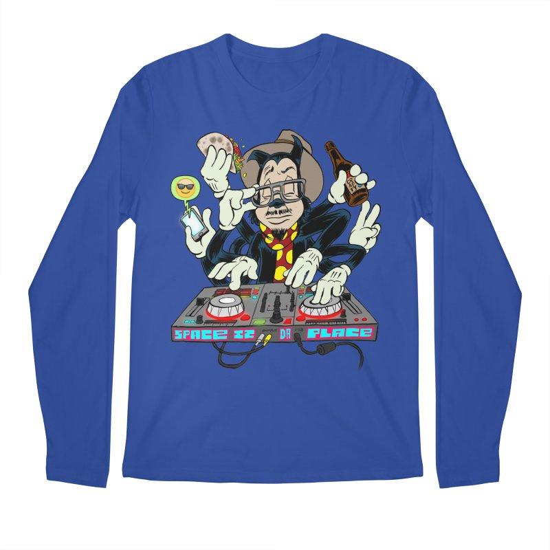 DJ Sancho Swift Men's Longsleeve T-Shirt by Magic Inkwell