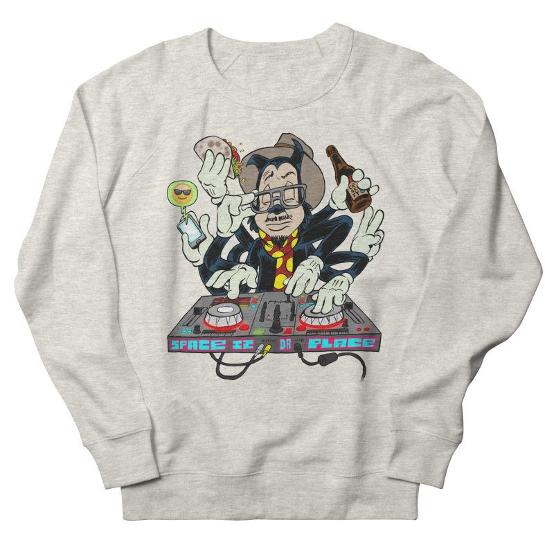 DJ Sancho Swift Women's French Terry Sweatshirt by Magic Inkwell