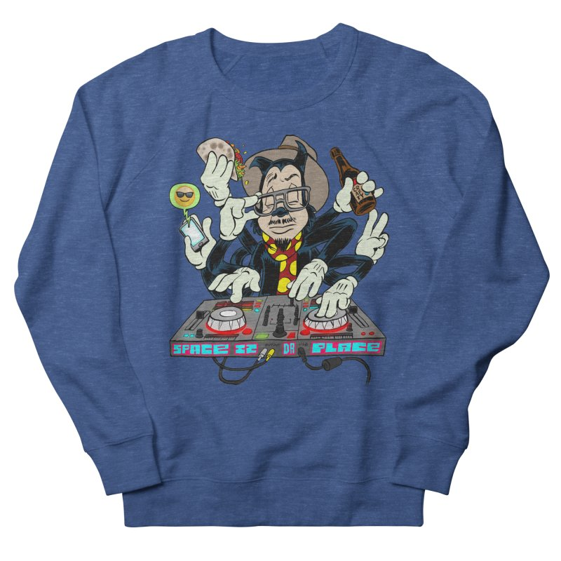 DJ Sancho Swift Men's French Terry Sweatshirt by Magic Inkwell