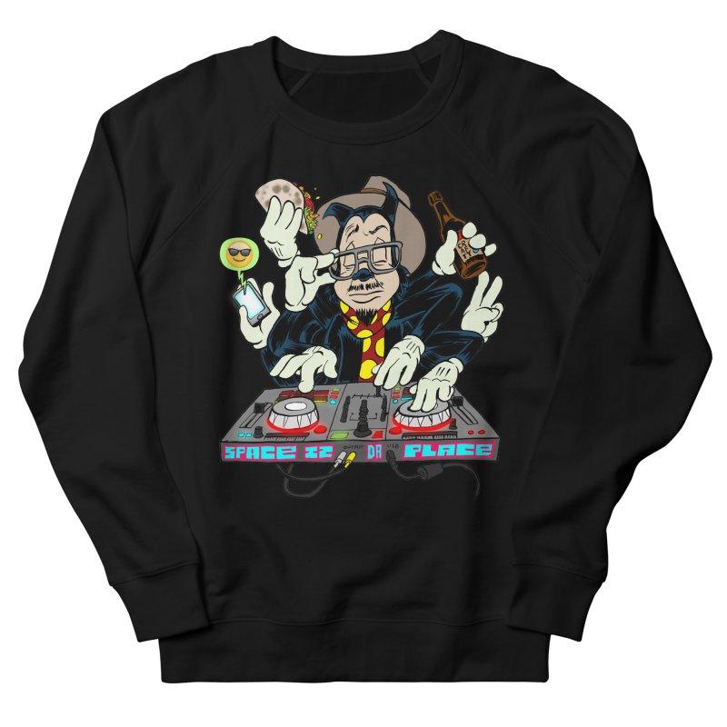 DJ Sancho Swift Men's French Terry Sweatshirt by Magic Inkwell