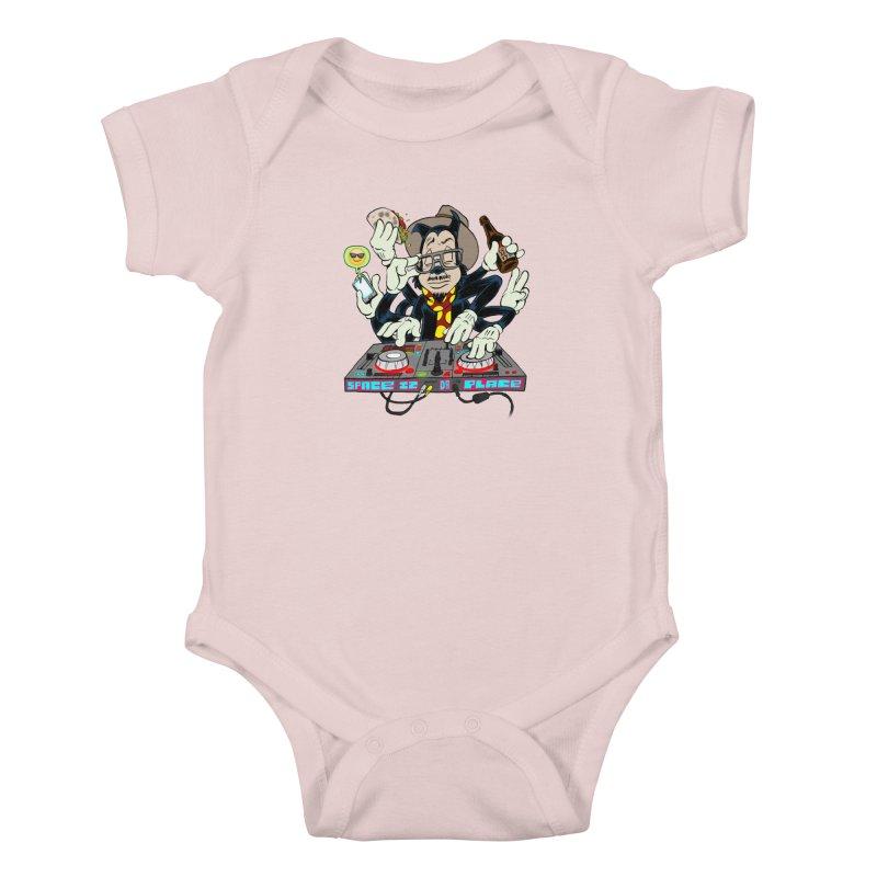 DJ Sancho Swift Kids Baby Bodysuit by Magic Inkwell