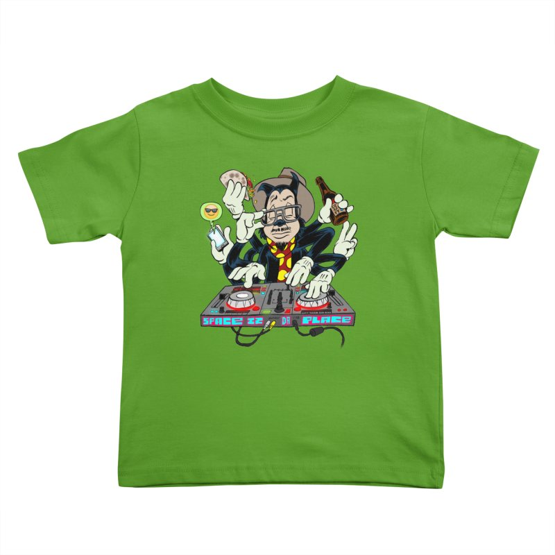 DJ Sancho Swift Kids Toddler T-Shirt by Magic Inkwell
