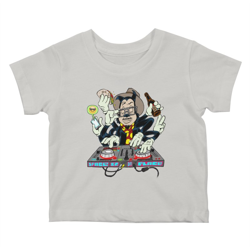 DJ Sancho Swift Kids Baby T-Shirt by Magic Inkwell