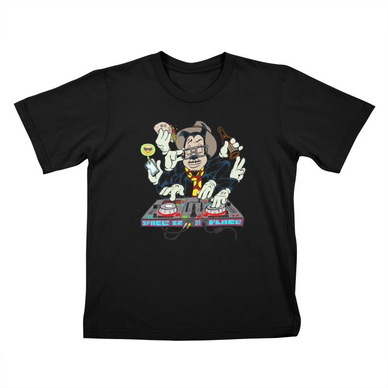 DJ Sancho Swift Kids T-Shirt by Magic Inkwell