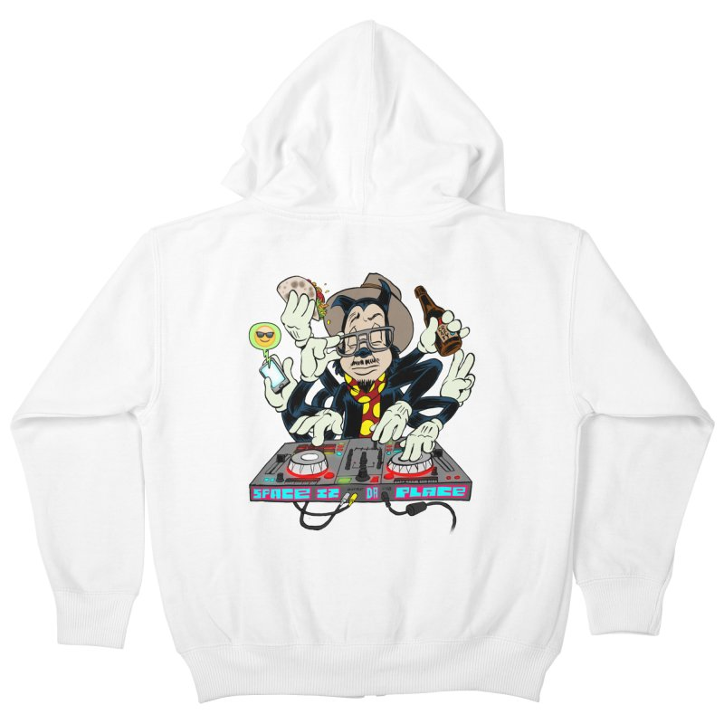 DJ Sancho Swift Kids Zip-Up Hoody by Magic Inkwell