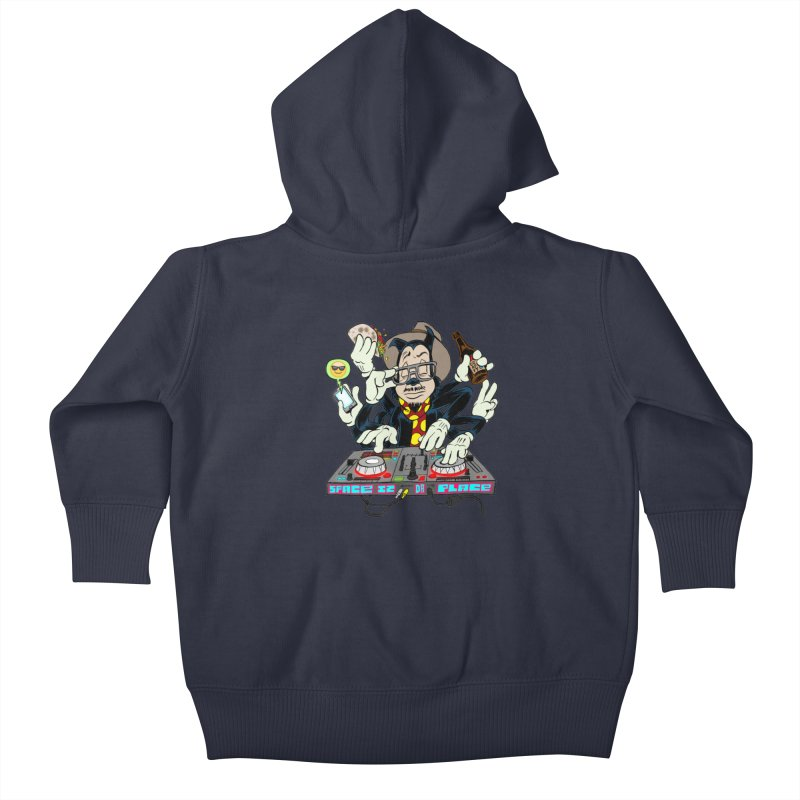 DJ Sancho Swift Kids Baby Zip-Up Hoody by Magic Inkwell