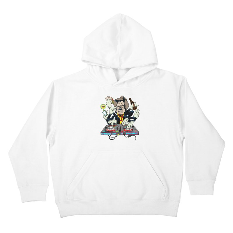 DJ Sancho Swift Kids Pullover Hoody by Magic Inkwell