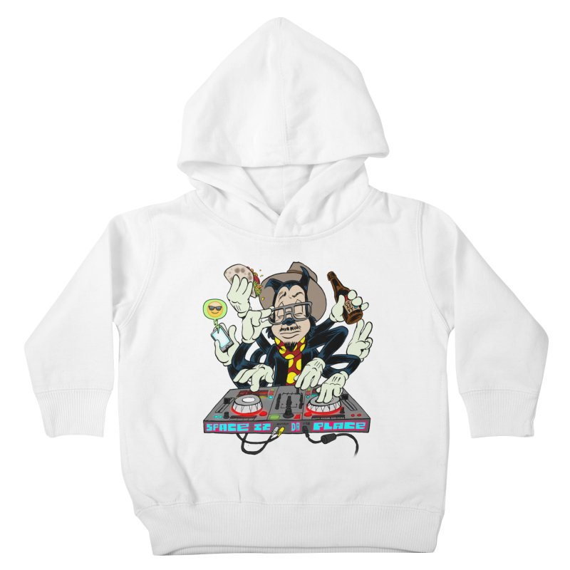 DJ Sancho Swift Kids Toddler Pullover Hoody by Magic Inkwell