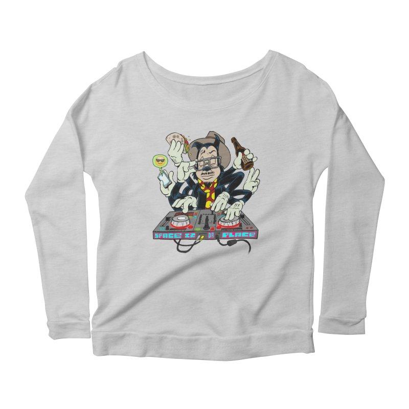 DJ Sancho Swift Women's Scoop Neck Longsleeve T-Shirt by Magic Inkwell