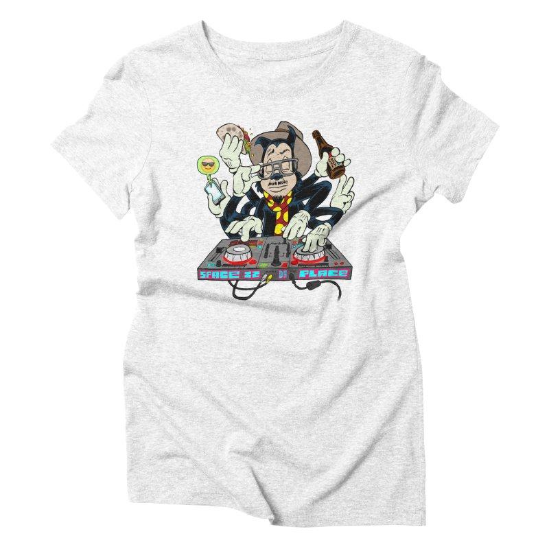 DJ Sancho Swift Women's Triblend T-shirt by Magic Inkwell