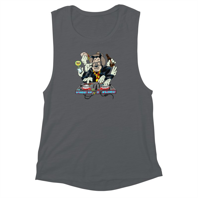 DJ Sancho Swift Women's Muscle Tank by Magic Inkwell