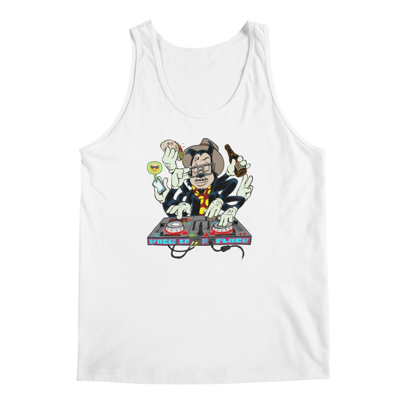 DJ Sancho Swift Men's Regular Tank by Magic Inkwell