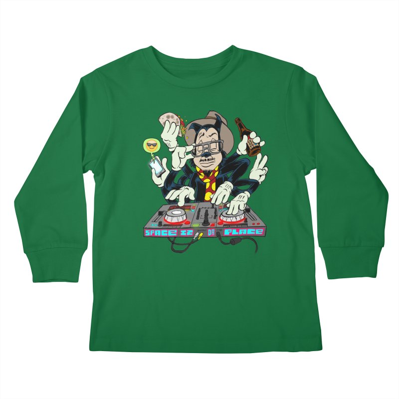 DJ Sancho Swift Kids Longsleeve T-Shirt by Magic Inkwell
