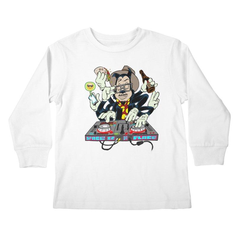 DJ Sancho Swift Kids Longsleeve T-Shirt by Magic Inkwell
