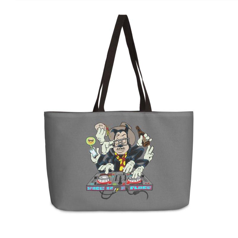 DJ Sancho Swift Accessories Weekender Bag Bag by Magic Inkwell