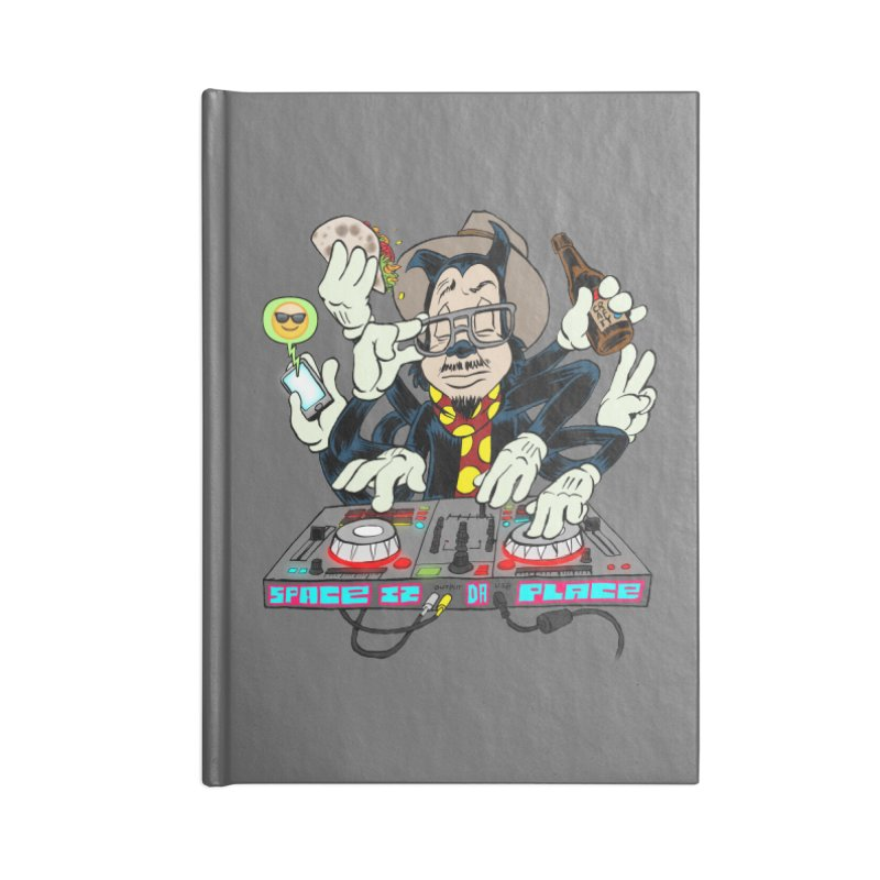 DJ Sancho Swift Accessories Blank Journal Notebook by Magic Inkwell