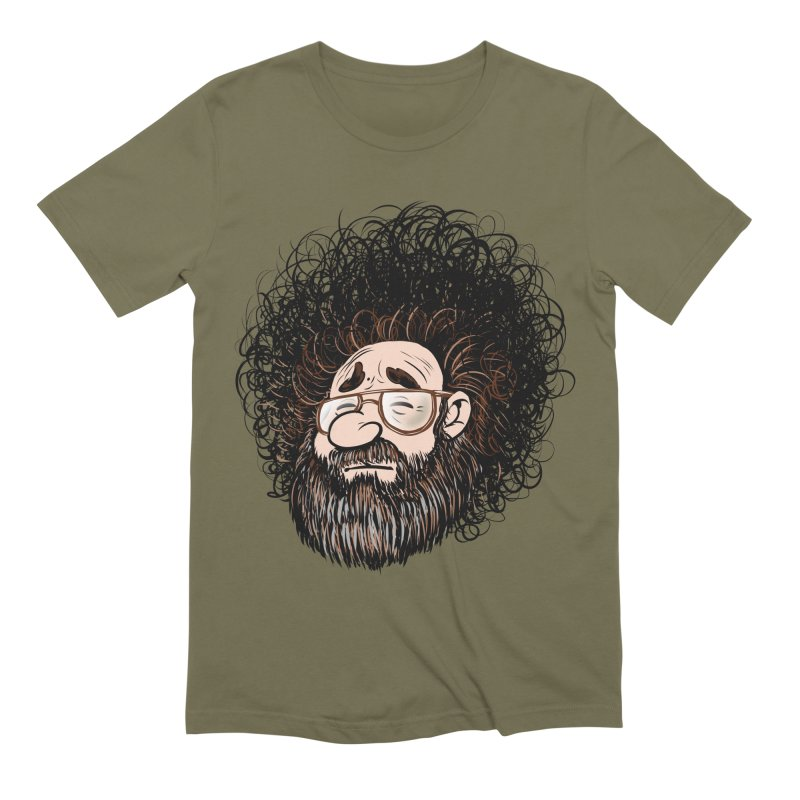 Self Portrait 2017 Men's Extra Soft T-Shirt by Magic Inkwell