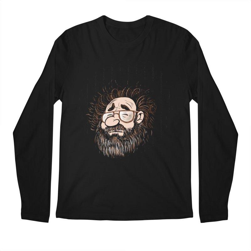 Self Portrait 2017 Men's Regular Longsleeve T-Shirt by Magic Inkwell