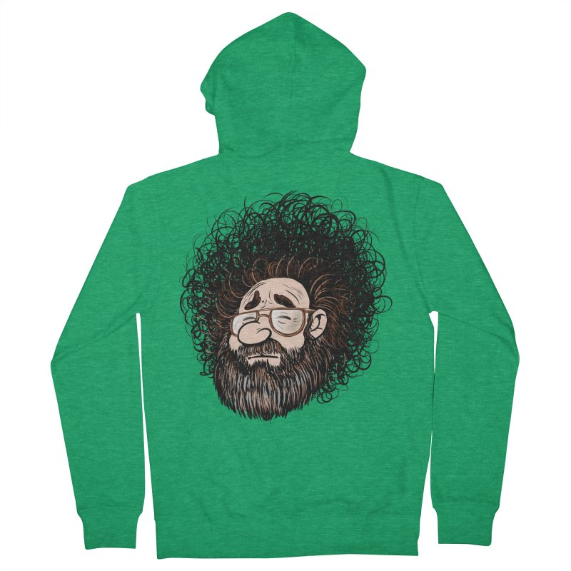 Self Portrait 2017 Men's French Terry Zip-Up Hoody by Magic Inkwell