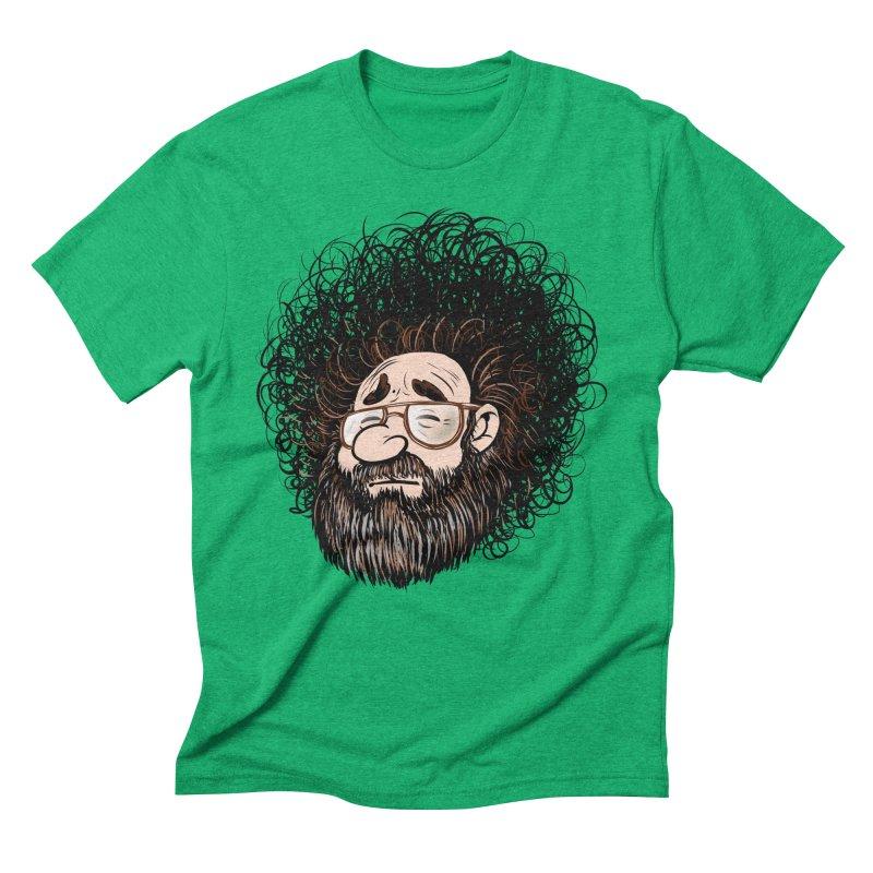 Self Portrait 2017 Men's Triblend T-Shirt by Magic Inkwell