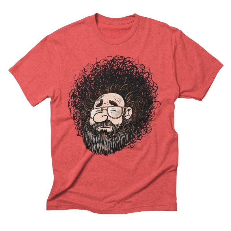 Self Portrait 2017 Men's Triblend T-Shirt by Magic Inkwell