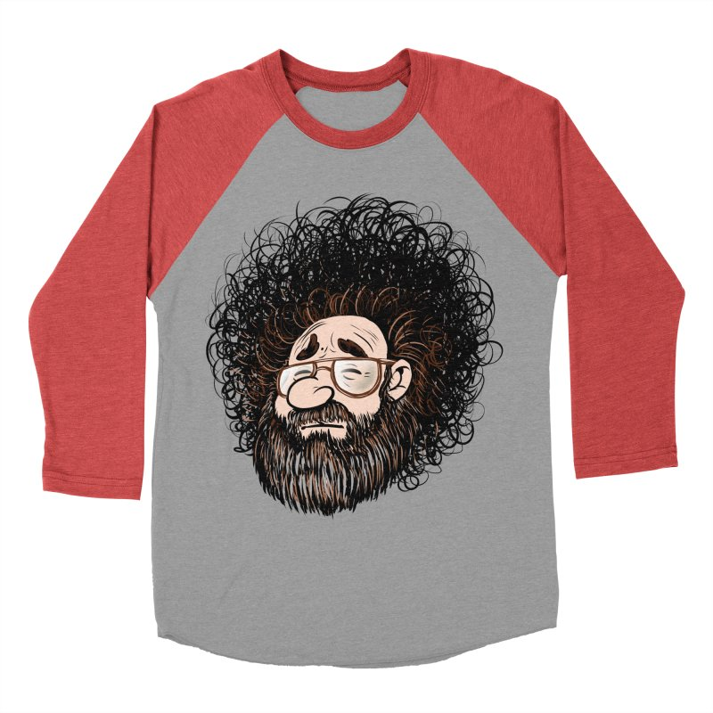 Self Portrait 2017 Men's Baseball Triblend T-Shirt by Magic Inkwell