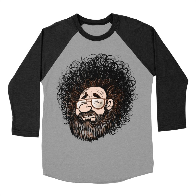 Self Portrait 2017 Men's Baseball Triblend Longsleeve T-Shirt by Magic Inkwell