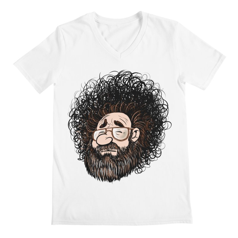 Self Portrait 2017 Men's Regular V-Neck by Magic Inkwell