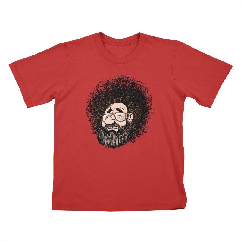 Self Portrait 2017 Kids T-Shirt by Magic Inkwell