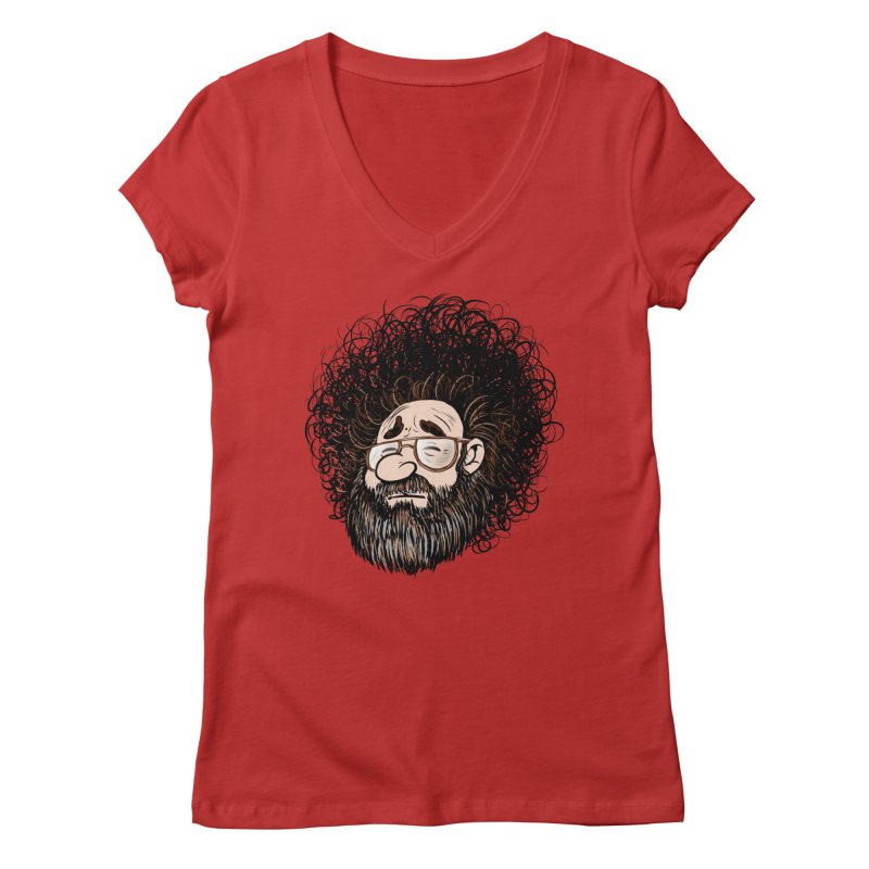 Self Portrait 2017 Women's V-Neck by Magic Inkwell