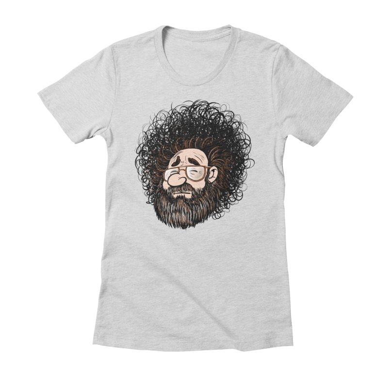 Self Portrait 2017 Women's Fitted T-Shirt by Magic Inkwell