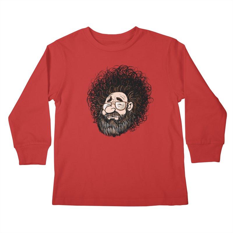 Self Portrait 2017 Kids Longsleeve T-Shirt by Magic Inkwell