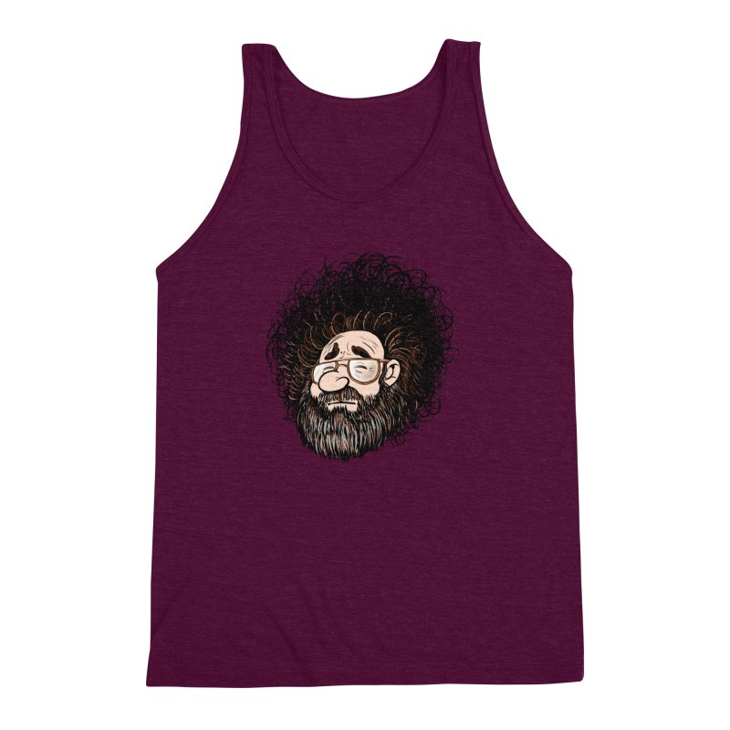 Self Portrait 2017 Men's Triblend Tank by Magic Inkwell