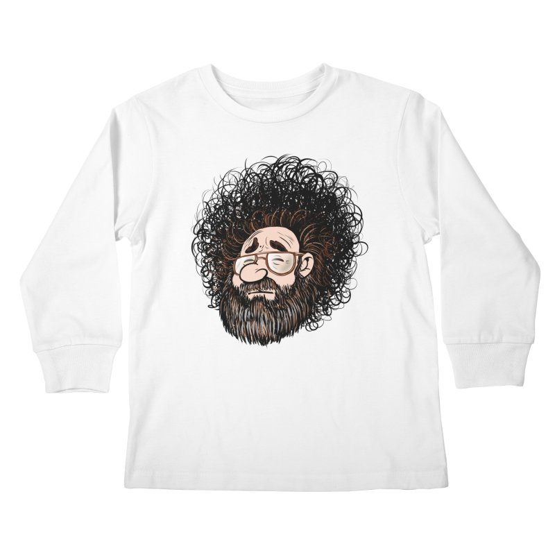 Self Portrait 2017 Kids Longsleeve T-Shirt by Magic Inkwell