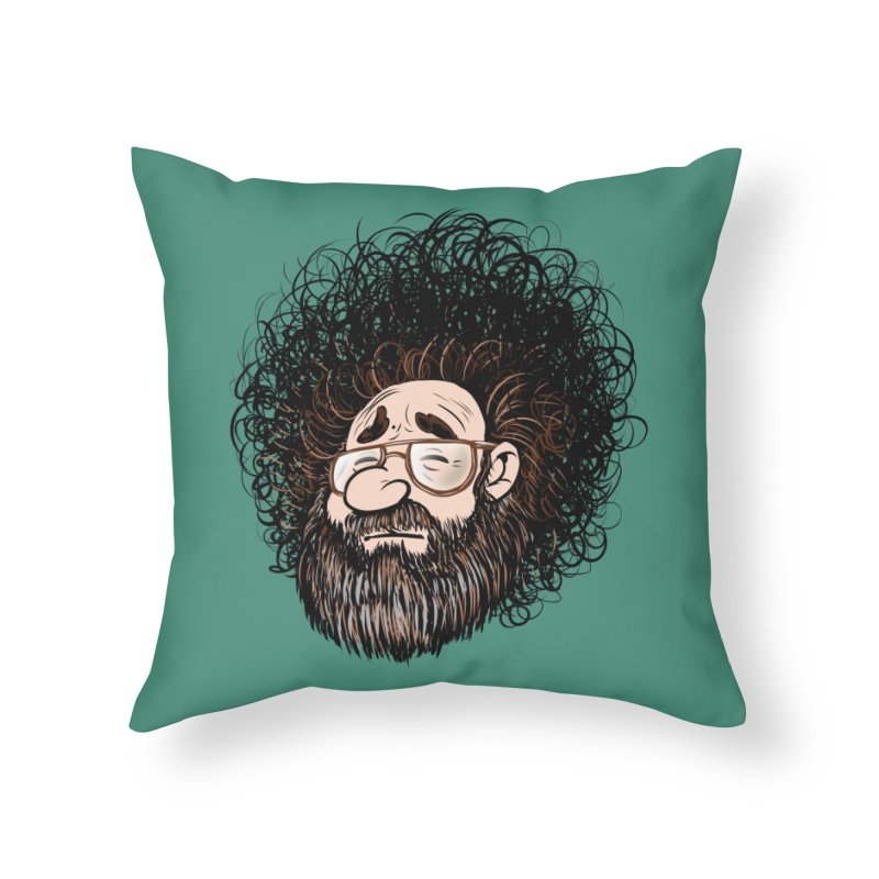 Self Portrait 2017 Home Throw Pillow by Magic Inkwell