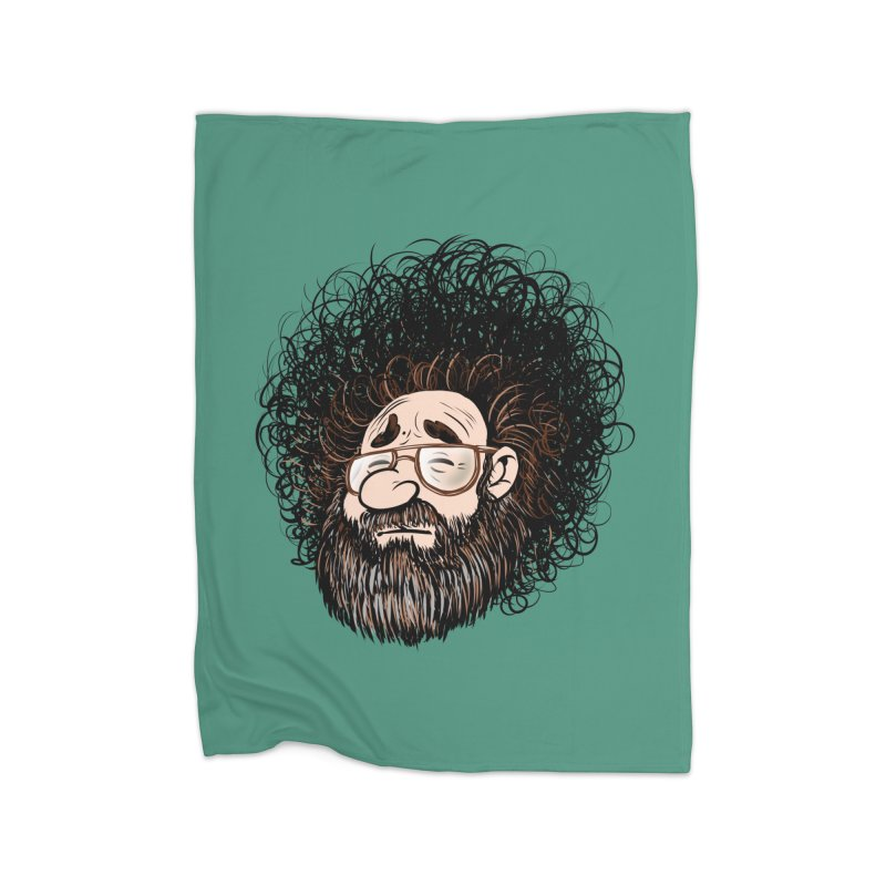 Self Portrait 2017 Home Fleece Blanket by Magic Inkwell