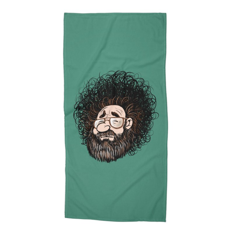 Self Portrait 2017 Accessories Beach Towel by Magic Inkwell