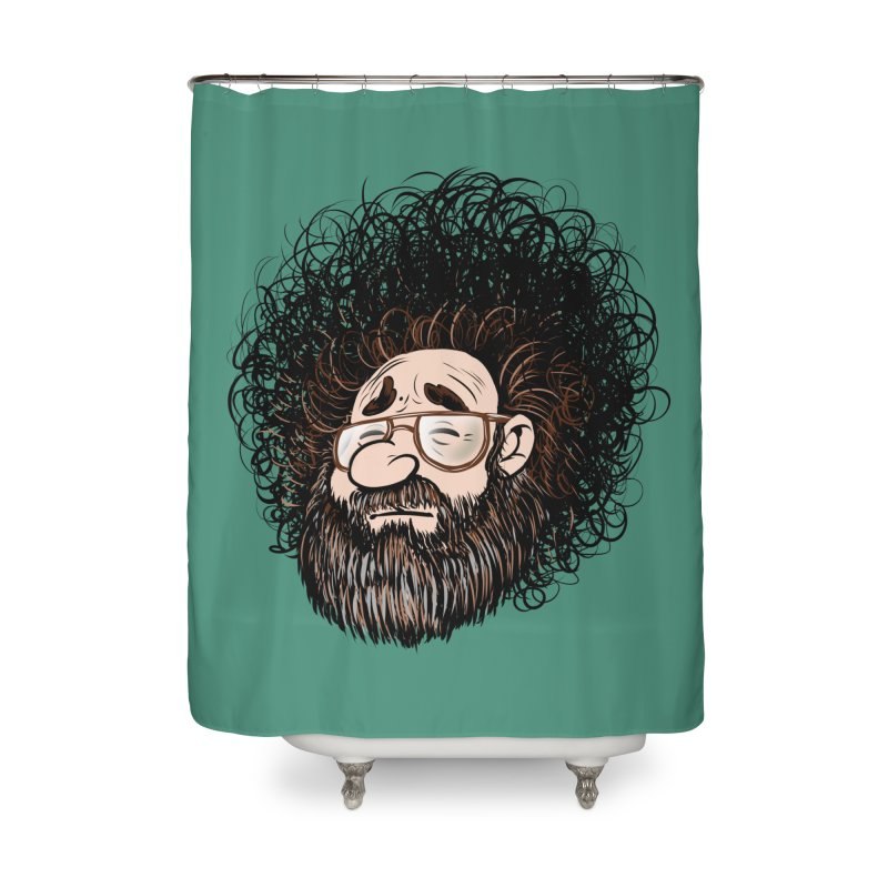 Self Portrait 2017 Home Shower Curtain by Magic Inkwell